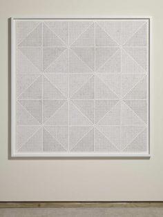 Anna Barriball: Acoustic Tiles I