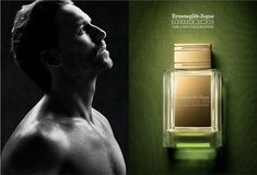 ermenegildo zegna Perfume Ad, Perfume Bottles, Ads, Beauty, Perfume Bottle, Beauty Illustration