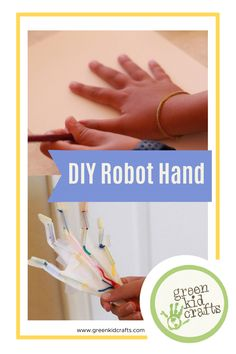The DIY Robot Hand steam activity is a simple and inventive engineering activity that will give your kids the opportunity to dabble in the world of robotics! Students can create a moving, bendable hand. #greenkidcrafts #greensummer #fuelingimaginations #outdoorplay #STEAMeducation #subscriptionbox #subscriptionboxforkids #crafts #tinkerbox #earthdayeveryday #protectourplanet #parenteducation #thereisnoplanetb #leadwithkindness #teachthemwell #environmentaleducation