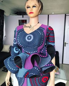 Don't you think it's the best time for you to get some enchanting Ankara styles for yourself. The Ankara styles below are so magnificent and their styles are magical. Checkout these enchanting ankara styles and enjoy the beauty of the cold weather. African Maxi Dresses, Latest African Fashion Dresses, African Dresses For Women, African Attire, Ankara Gowns, Ankara Fashion, African Men, African Lace Styles, Ankara Styles For Women