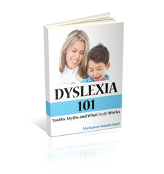 Dyslexia 101:  Truths, Myths and What Really Works is a parent's quick-start guide to understanding the world of dyslexia. homeschoolingwithdyslexia.com