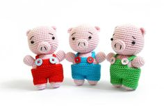Reco The Pig Amigurumi Pattern