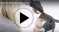 Video HOW-TO: Brunette Contouring? Because our brunettes might want classic…
