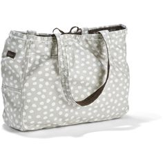 Our brand new Retro Metro Tote in Lots Dots! Love this!! #3873 $62.00