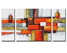 "Noah Art-Contemporary Abstract Artwork, ""Orange Land"" 100... https://www.amazon.com/dp/B01F7AG81C/ref=cm_sw_r_pi_dp_x_PLAhzbSSB8GCQ"