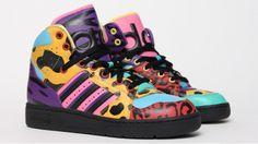 Adidas Jeremy Scott - Instinct Leopard