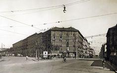 Via Farini angolo Via Valtellina, 1928
