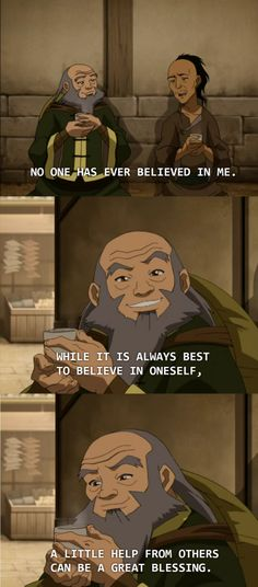 The Lion's Den Cartoon Quotes, Funny Animal Quotes, Funny Animals, Iroh Quotes, Avatar Quotes, Avatar The Last Airbender Funny, Avatar Airbender, Uplifting Memes, Avatar Legend Of Aang