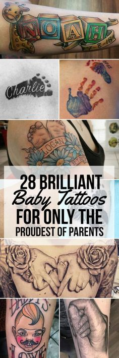 28 Brilliant Baby Tattoos For Only The Proudest of Parents- 28 Brilliant Baby Ta. - 28 Brilliant Baby Tattoos For Only The Proudest of Parents- 28 Brilliant Baby Ta… - Jj Tattoos, Baby Name Tattoos, Parent Tattoos, Date Tattoos, Body Art Tattoos, Tatoos, Baby Feet Tattoos, Tattoo For Baby Girl, Tattoo For Son