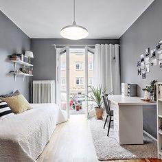 Habitaciones juveniles de estilo nórdico, hoy en el blog #delikatissen
