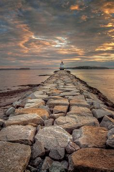 Photograph Muted Sunrise, Spring Point Lighthouse by Alan Borror on 500px