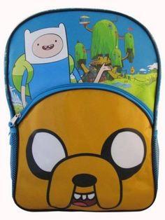 Kids-Backpacks-Adventure-Time-Finn-and-Jake-Tree-House-Backpack