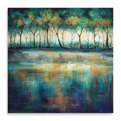 The Sunday Morning Canvas Print features a variety of colors and brightens any entryway or room. With a polished, gallery-wrap finish, it single-handedly redefines the bedroom, living room or foyer. Canvas Frame, Canvas Art, Canvas Prints, Teal Art, Modern Wall Art, Art Pictures, Art Pics, Painting Inspiration, Home Art