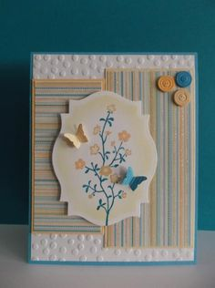 Butterfly Bush by stampin'nana - Cards and Paper Crafts at Splitcoaststampers