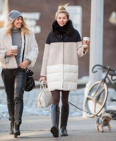 Jessica Hart - coat