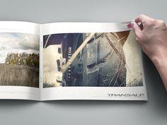 "Photo Album ""Honda XL 700 VA Transalp - by Maxim Tyutmanov, via Behance Honda, Album, Print Design, Polaroid Film, Behance, Card Book"