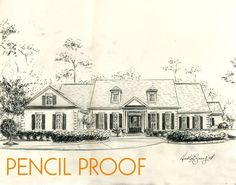 Custom House Portrait Pen and Ink Architectural by theinklab, $250.00