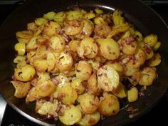 Bratkartoffeln | German Fried Potatoes
