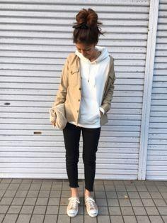 yuko│UNIQLO Shirts  Looks - WEAR