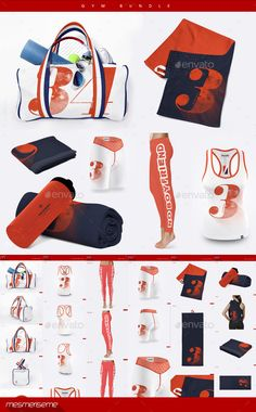 Gym Bundle by mesmeriseme Gym Towel, Mockup, Branding, Free, Stuff To Buy, Graphic Design, Parkour, Housewife, Adobe Photoshop
