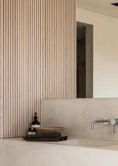 Home Decor Luxury bathroom inspo.Home Decor Luxury bathroom inspo Spa Bathroom Design, Bathroom Spa, Chic Bathrooms, Bathroom Styling, Modern Bathroom, Modern Hallway, Neutral Bathroom, Japanese Bathroom, Colorful Bathroom