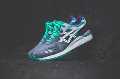 Asics Gel Lyte III Grape (Detailed Pictures)
