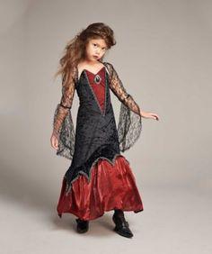 Midnight Vampiress Costume for Girls