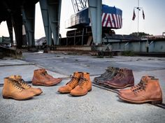 Red Wing Heritage Blacksmith Work Boots 2014 - Video • Selectism