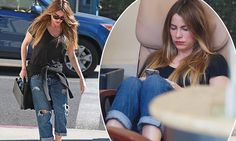 Sofia Vergara kicks back in jeans just days ahead of tying the knot