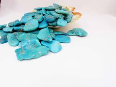 Turquoise  Sleeping Beauty  Chunks  by TravelingGypsies, $5.00