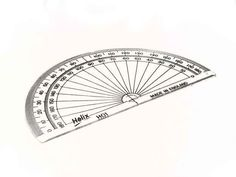 A Protractor | 42 Amazingly Fun And Useful Things You Print For Free