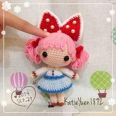 amigurumi cute crochet doll #amigurumidoll #crochetdoll