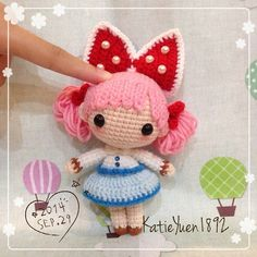 amigurumi cute crochet doll