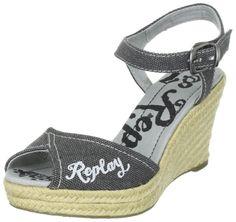 REPLAY Clareta GWP51.C0006T Damen Sandalen/Fashion-Sandalen: Amazon.de: Schuhe & Handtaschen