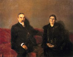 The Athenaeum - My Children\'s Grandparents (Joaquin Sorolla y Bastida - )