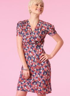 M7116 | Misses' Empire-Waist Dresses Sewing Pattern | McCall's Patterns