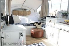Bethany purchased and remodeled a Palomino pop up camper to allow her the perfect little mobile retreat for soaking up family time with her children....