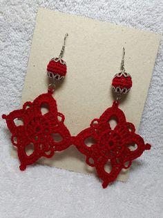 Crochet Jewelry Patterns, Crochet Earrings Pattern, Crochet Bikini Pattern, Beading Patterns Free, Crochet Flower Patterns, Crochet Bracelet, Macrame Patterns, Crochet Accessories, Crochet Motif