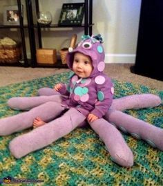 Baby Octopus - Halloween Costume Contest via @costume_works