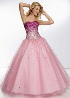 Mori Lee 95068 - Bubble Strapless Beaded Prom Dresses Online #thepromdresses