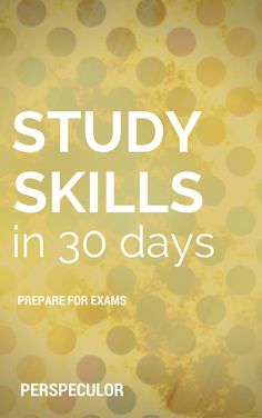 Want to improve your study skills but don't know where to start? This book is perfect for high school or college students feeling overwhelmed by upcoming exams. Short daily tasks gently ease you into successful studying.