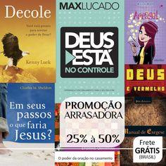 12 temas abordados nos Livros da Promoção Arrasadora - 25% à 50%