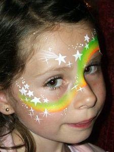 maquillage rainbow