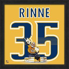 Pekka Rinne Nashville Predators Players Uniframe