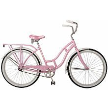 Pink Schwinn my guys gave me for Mother's Day a few years back. I added a wicker basket to mine. Compliments galore on the parkway!