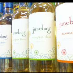 Pretty wine label