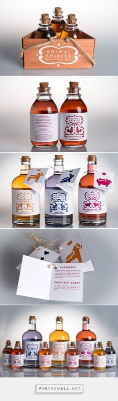 Animal Spirits Vodka - Daily Package Design InspirationDaily Package Design Inspiration | - created via https://pinthemall.net