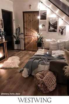 Cute Bedroom Decor, Bedroom Ideas, Bedroom Inspo, Bedroom Makeovers, Bedroom Pictures, Home Decor Inspiration, Budget Home Decorating, Decorating Bedrooms, Decorating Ideas