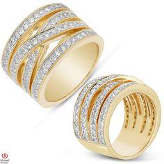Ebay NissoniJewelry presents - Ladies Diamond Anniversary Band in 14K Yellow Gold with 1.66CT Diamonds    Model Number:UB4584LY    http://www.ebay.com/itm/Ladies-Diamond-Anniversary-Band-in-14K-Yellow-Gold-with-1.66CT-Diamonds/321611857274