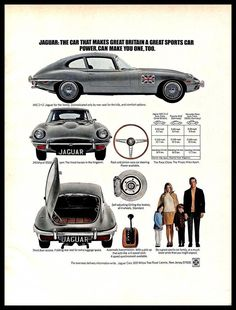 Classic Car News Pics And Videos From Around The World Mercedes Benz Germany, Jaguar Sport, British Sports Cars, Candy Apple Red, Best Classic Cars, E Type, Car In The World, New Tricks, Rear Seat